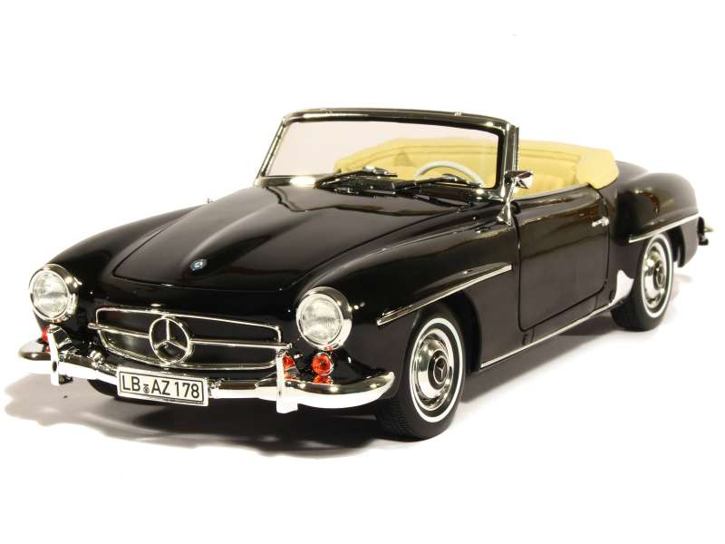 mercedes 190 sl w121 cabriolet 1957 norev 1 18. Black Bedroom Furniture Sets. Home Design Ideas