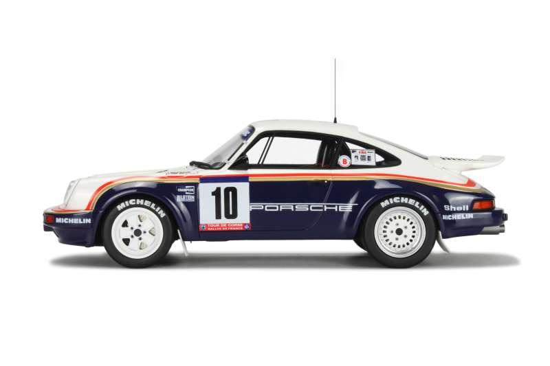 porsche 911 sc rs tour de corse 1985 ottomobile 1 18 autos miniatures tacot. Black Bedroom Furniture Sets. Home Design Ideas