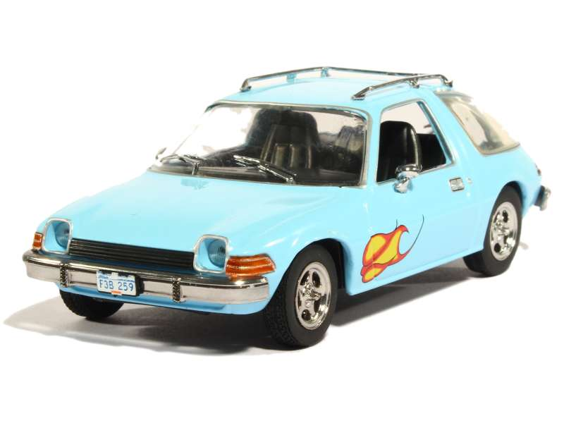 amc pacer 1977 greenlight 1 43 autos miniatures tacot. Black Bedroom Furniture Sets. Home Design Ideas