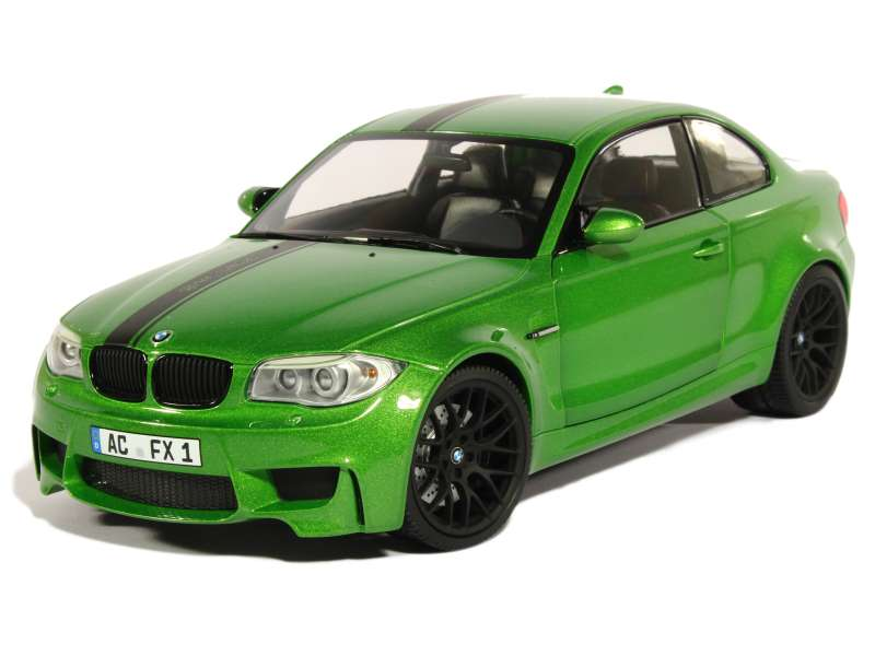 bmw 1m coupe e82 2011 minichamps 1 18 autos miniatures tacot. Black Bedroom Furniture Sets. Home Design Ideas