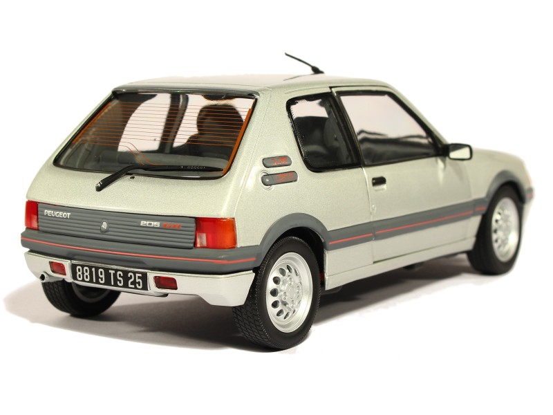 peugeot 205 gti 1 6l 1988 norev 1 18 autos miniatures tacot. Black Bedroom Furniture Sets. Home Design Ideas