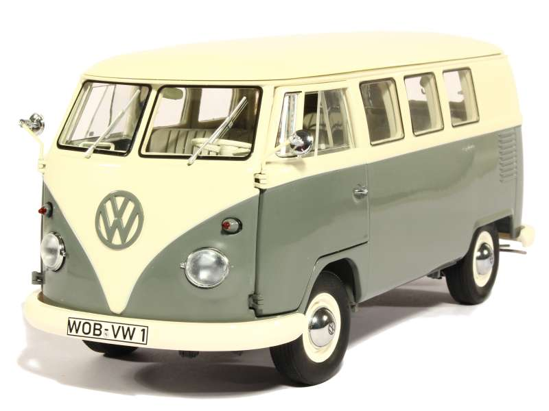 volkswagen combi t1 bus 1959 schuco 1 18 autos miniatures tacot. Black Bedroom Furniture Sets. Home Design Ideas