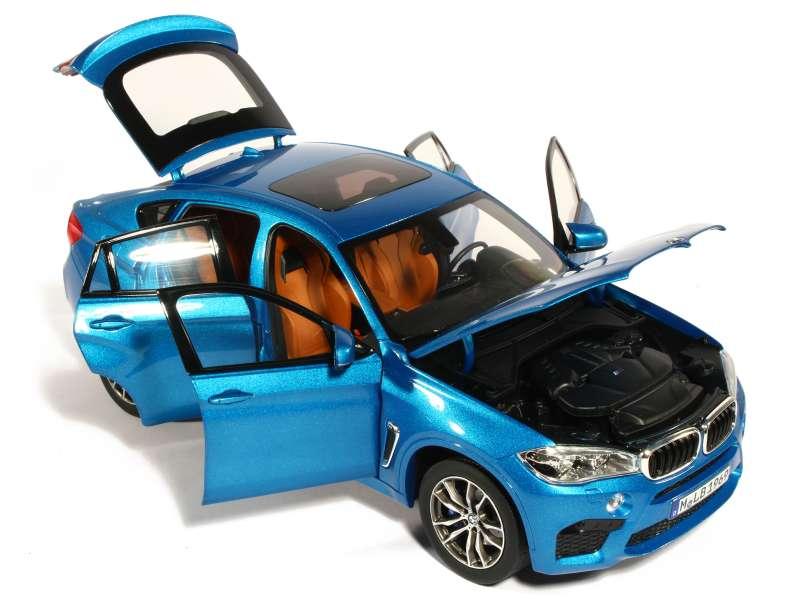 Bmw X6m F86 2015 Norev 1 18 Autos Miniatures Tacot
