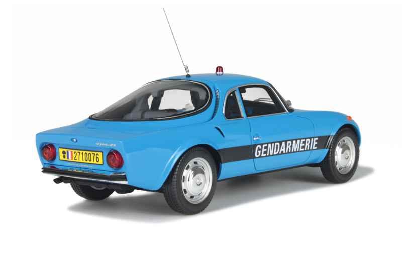 matra djet 5 s gendarmerie bri ottomobile 1 18 autos miniatures tacot. Black Bedroom Furniture Sets. Home Design Ideas
