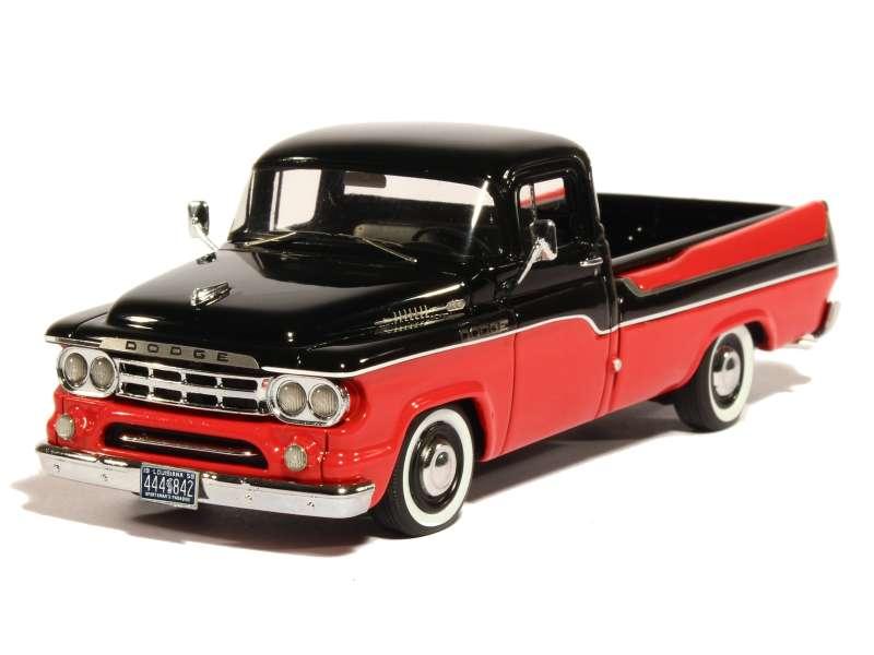 dodge d100 sweptside pick up 1959 neo 1 43 autos miniatures tacot. Black Bedroom Furniture Sets. Home Design Ideas