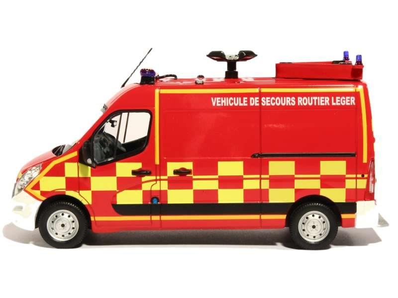 renault master iii pompiers vsrl 2011 norev 1 43 autos miniatures tacot. Black Bedroom Furniture Sets. Home Design Ideas