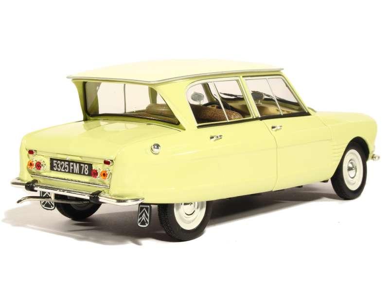 citro n ami 6 1964 norev 1 18 autos miniatures tacot. Black Bedroom Furniture Sets. Home Design Ideas