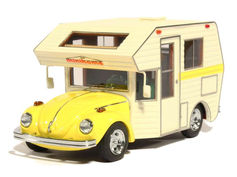 volkswagen cox camping car 1977 autocult 1 43 autos miniatures tacot. Black Bedroom Furniture Sets. Home Design Ideas
