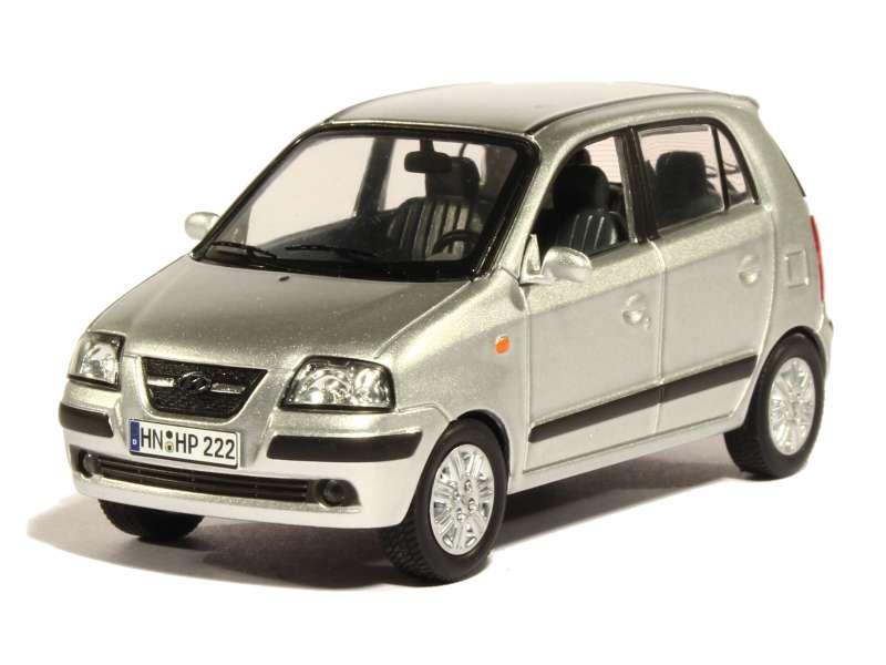 hyundai atos prime 2004 premium x 1 43 autos miniatures tacot. Black Bedroom Furniture Sets. Home Design Ideas