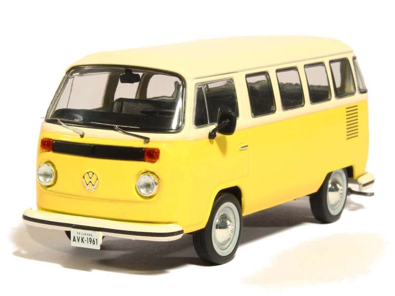 volkswagen combi t2 bus 1976 triple 9 1 43 autos miniatures tacot. Black Bedroom Furniture Sets. Home Design Ideas