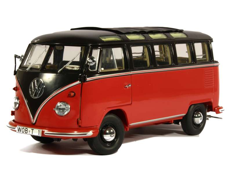 volkswagen combi t1 samba 1958 schuco 1 18 autos miniatures tacot. Black Bedroom Furniture Sets. Home Design Ideas