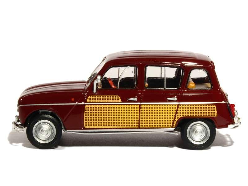 renault r4l parisienne 1964 eligor 1 43 autos miniatures tacot. Black Bedroom Furniture Sets. Home Design Ideas