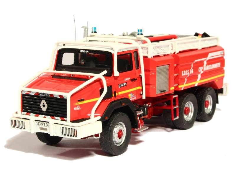 renault cbh 385 ccfs pompiers alerte 1 43 autos miniatures tacot. Black Bedroom Furniture Sets. Home Design Ideas