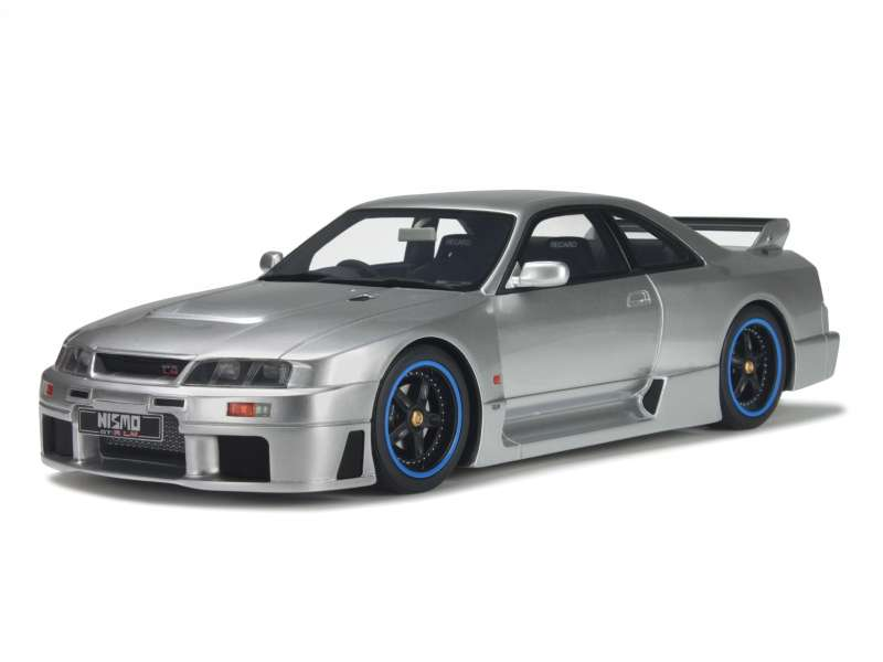 nissan skyline r33 nismo gt r lm 1996 ottomobile 1 18 autos miniatures tacot. Black Bedroom Furniture Sets. Home Design Ideas