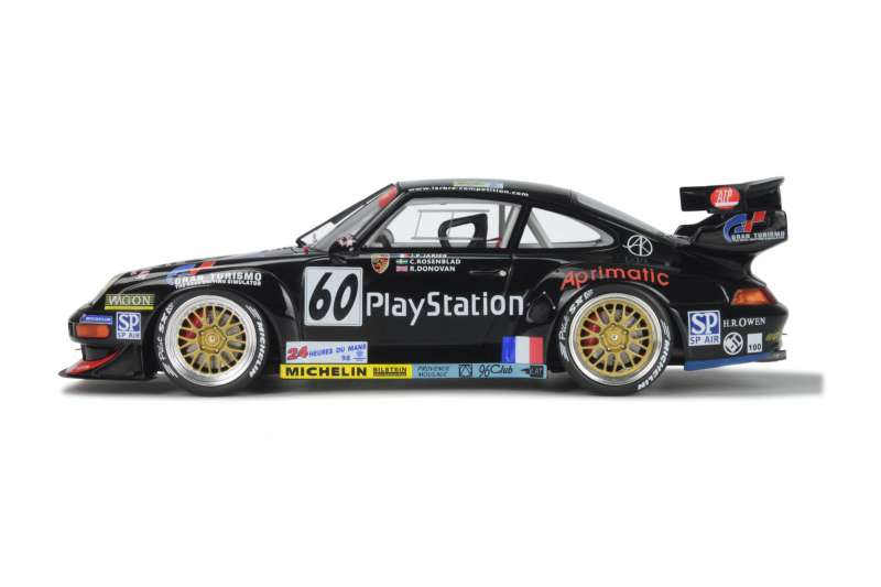porsche 911 993 gt2 le mans 1998 gt spirit 1 18 autos miniatures tacot. Black Bedroom Furniture Sets. Home Design Ideas