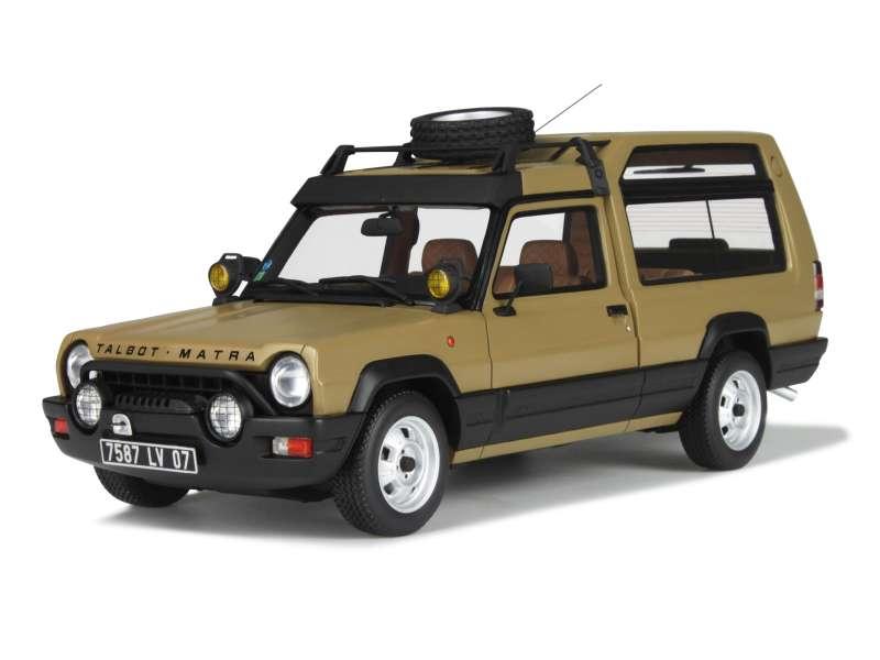matra rancho grand raid 1980 ottomobile 1 18 autos miniatures tacot. Black Bedroom Furniture Sets. Home Design Ideas