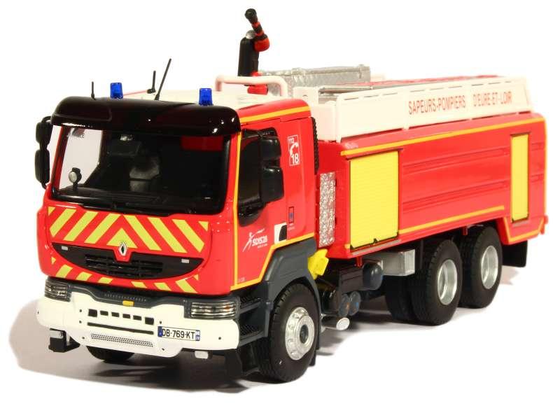 renault kerax ccgc gallin pompier eligor 1 43 autos miniatures tacot. Black Bedroom Furniture Sets. Home Design Ideas