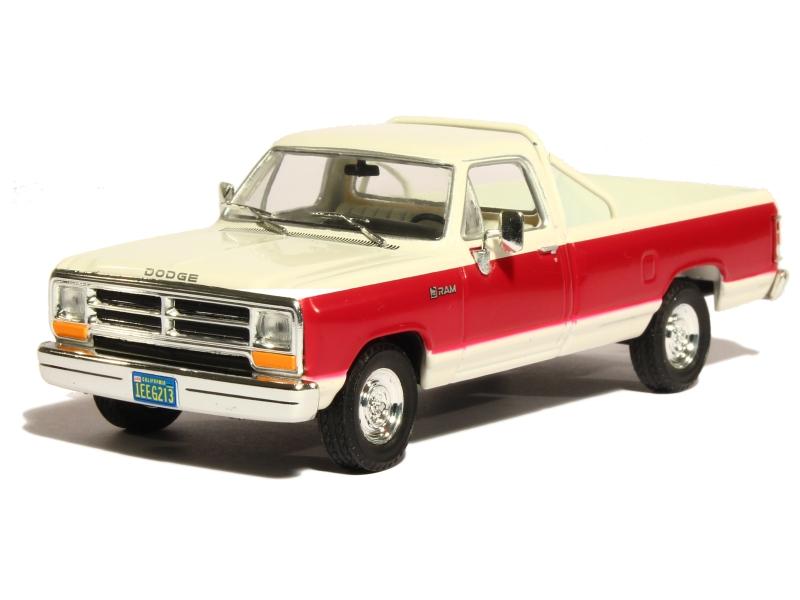 dodge ram pick up 1987 whitebox 1 43 autos miniatures tacot. Black Bedroom Furniture Sets. Home Design Ideas