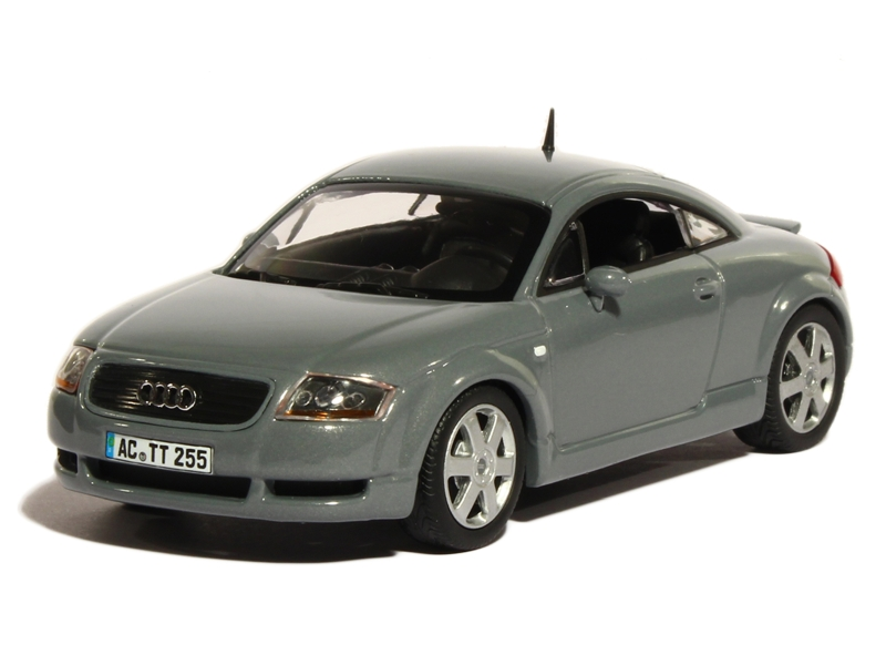 audi tt coup 1999 minichamps 1 43 autos. Black Bedroom Furniture Sets. Home Design Ideas
