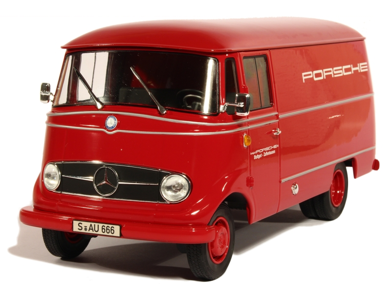 mercedes l319 fourgon 1955 norev 1 18 autos miniatures tacot. Black Bedroom Furniture Sets. Home Design Ideas