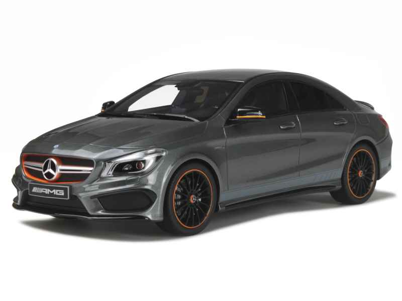 mercedes cla 45 amg orangeart edition c117 2014 gt spirit 1 18 autos miniatures tacot. Black Bedroom Furniture Sets. Home Design Ideas