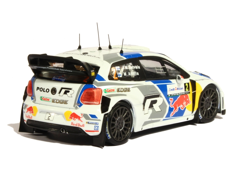 volkswagen polo r wrc alsace rally 2014 whitebox 1 43 autos miniatures tacot. Black Bedroom Furniture Sets. Home Design Ideas