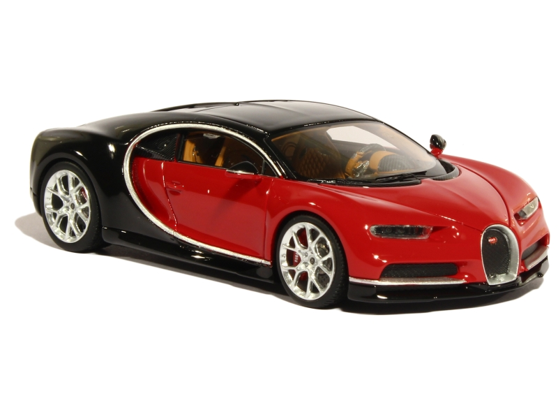 bugatti chiron nocturne 2016 looksmart 1 43 autos miniatures tacot. Black Bedroom Furniture Sets. Home Design Ideas