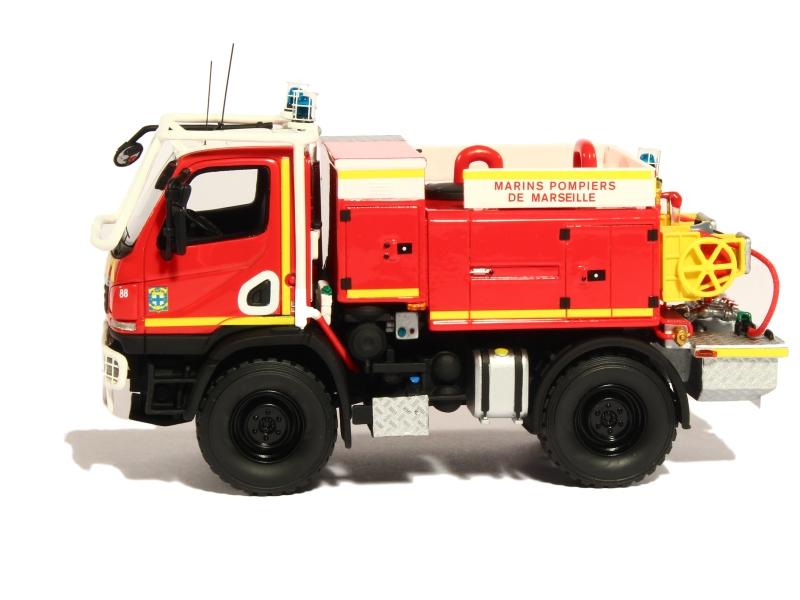 Mercedes - Unimog U20 Gimaex Pompiers - Alerte - 1/43 - Autos ... Mercedes Occasions