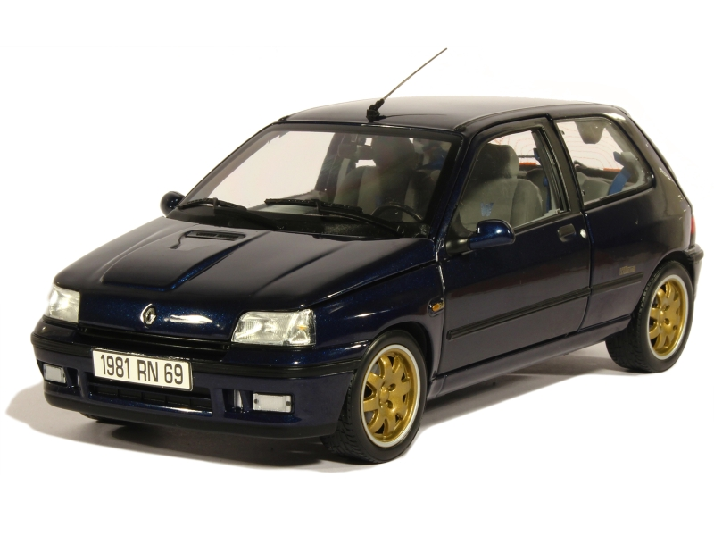 renault clio williams 1993 norev 1 18 autos miniatures tacot. Black Bedroom Furniture Sets. Home Design Ideas