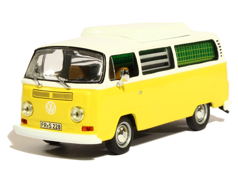volkswagen combi t2 camping 1972 solido 1 43 autos miniatures tacot. Black Bedroom Furniture Sets. Home Design Ideas