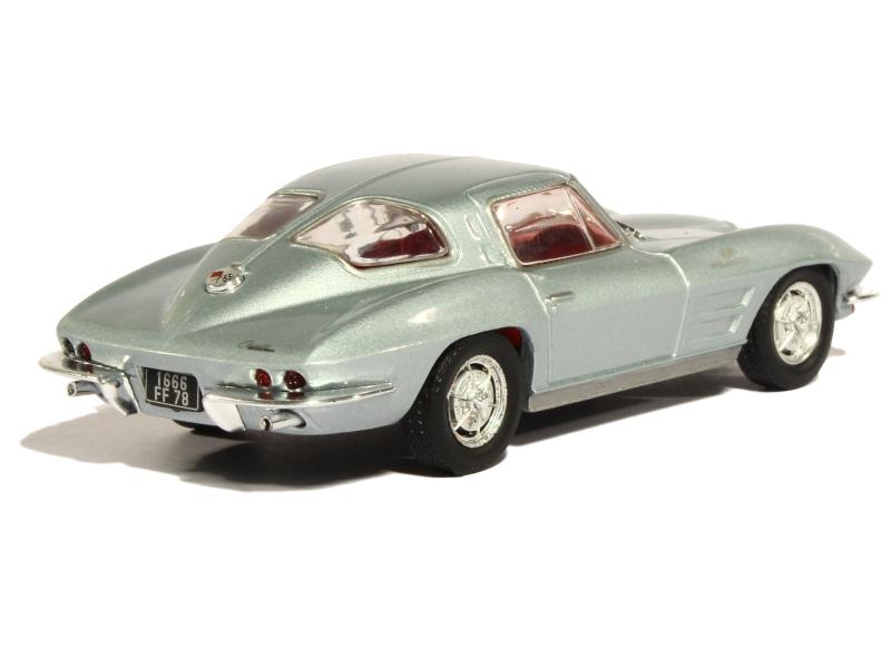Chevrolet Corvette Stingray 1963 Solido 1 43 Autos