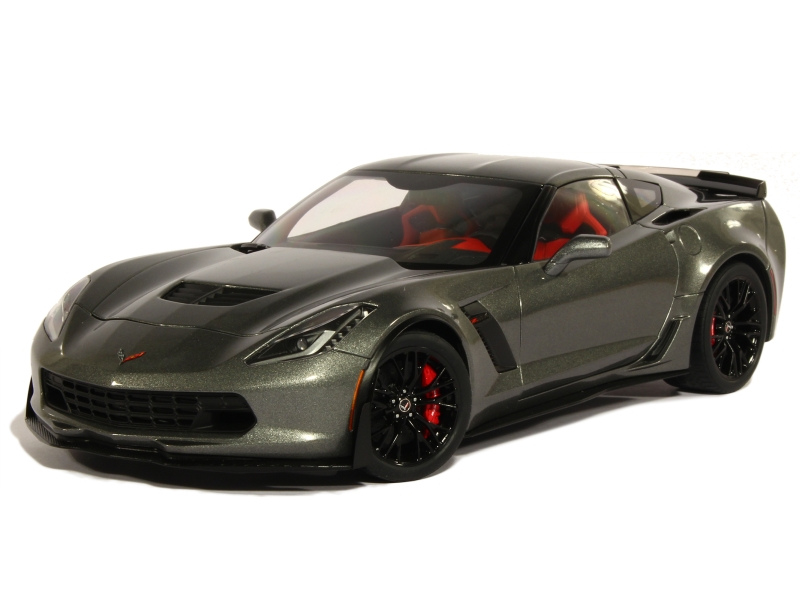 chevrolet corvette z06 c7 2016 autoart 1 18 autos miniatures tacot. Black Bedroom Furniture Sets. Home Design Ideas