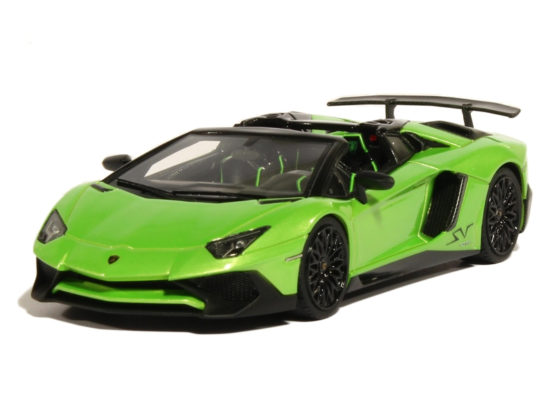 lamborghini aventador lp 750 4 sv roadster 2015 looksmart 1 43 autos miniatures tacot. Black Bedroom Furniture Sets. Home Design Ideas