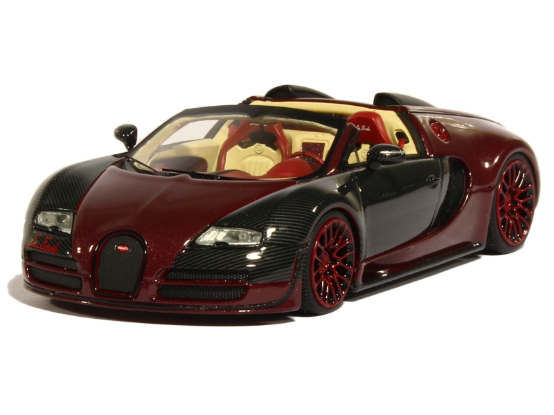 bugatti veyron grand sport vitesse la finale 2015 looksmart 1 43 autos miniatures tacot. Black Bedroom Furniture Sets. Home Design Ideas