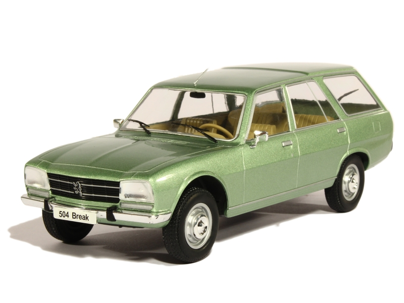 peugeot 504 break 1976 modelcar 1 18 autos miniatures tacot. Black Bedroom Furniture Sets. Home Design Ideas