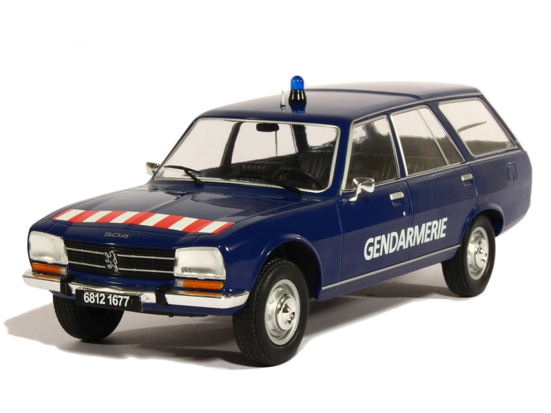 83325 Peugeot 504 Break Gendarmerie 1976