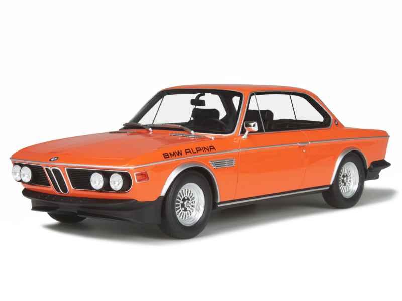 Bmw 3 0 Cs Alpina B2 E09 1972 Ottomobile 1 18 Autos Miniatures Tacot