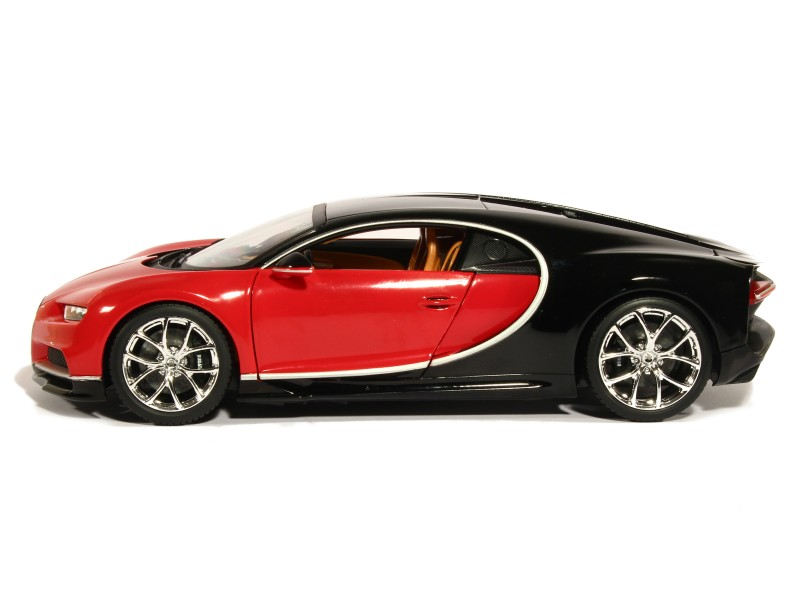 bugatti chiron 2016 burago 1 18 autos miniatures tacot. Black Bedroom Furniture Sets. Home Design Ideas