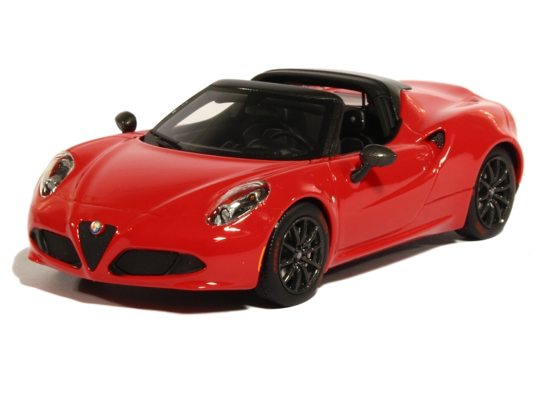 alfa romeo 4c spider concept 2015 truescale 1 43 autos miniatures tacot. Black Bedroom Furniture Sets. Home Design Ideas