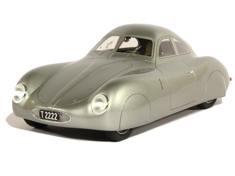 porsche type 64 berlin rome 1939 bos 1 18 autos miniatures tacot. Black Bedroom Furniture Sets. Home Design Ideas