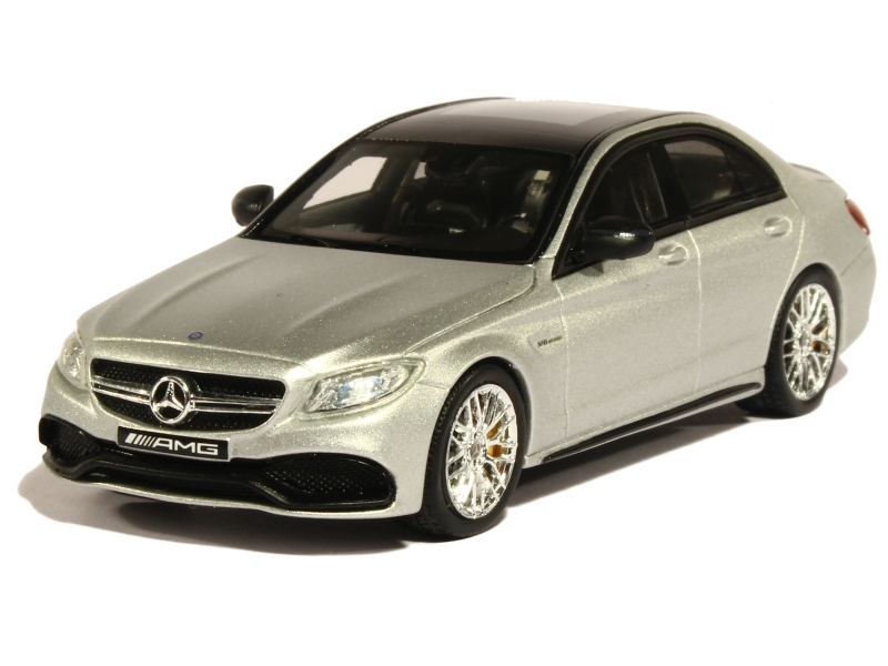 mercedes c63 s amg w205 2015 spark model 1 43 autos miniatures tacot. Black Bedroom Furniture Sets. Home Design Ideas