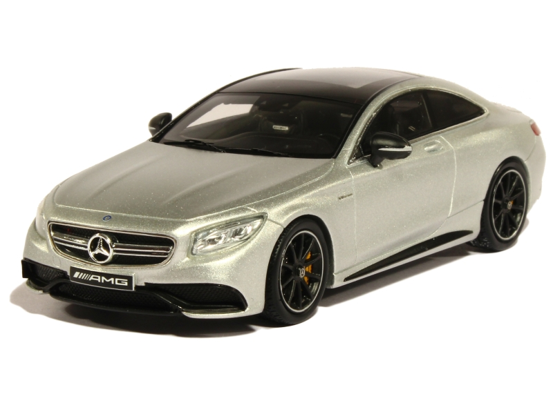 mercedes s63 amg coup c217 2015 spark model 1 43 autos miniatures tacot. Black Bedroom Furniture Sets. Home Design Ideas