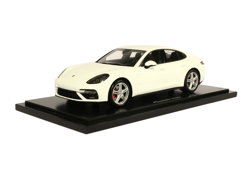 porsche new panamera turbo 2016 spark model 1 18 autos miniatures tacot. Black Bedroom Furniture Sets. Home Design Ideas