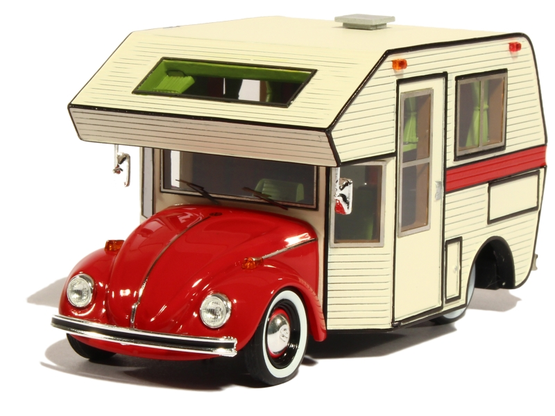 volkswagen cox camping car 1977 schuco pro r43 1 43 autos miniatures tacot. Black Bedroom Furniture Sets. Home Design Ideas