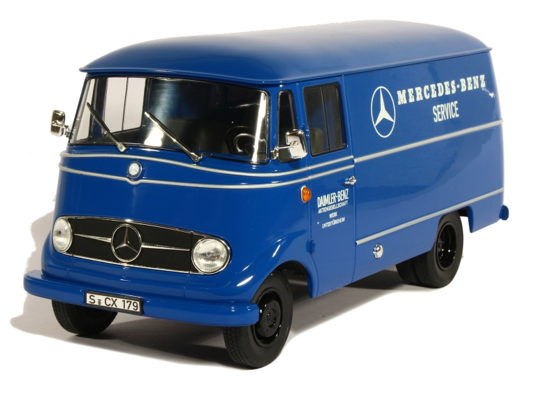 83810 Mercedes L319 Fourgon 1960