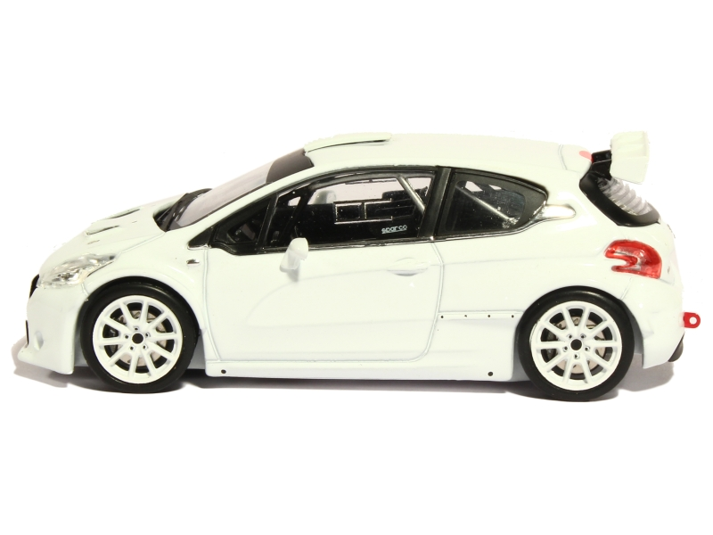 peugeot 208 t16 rs rally spec 2014 ixo 1 43 autos miniatures tacot. Black Bedroom Furniture Sets. Home Design Ideas