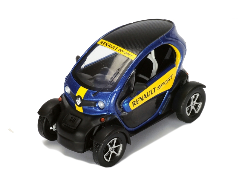 renault twizy renault sport 2015 spark model 1 43 autos miniatures tacot. Black Bedroom Furniture Sets. Home Design Ideas