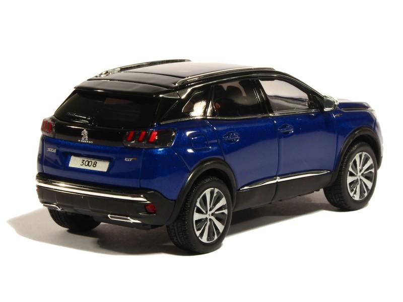 peugeot 3008 gt 2016 norev 1 43 autos miniatures tacot. Black Bedroom Furniture Sets. Home Design Ideas