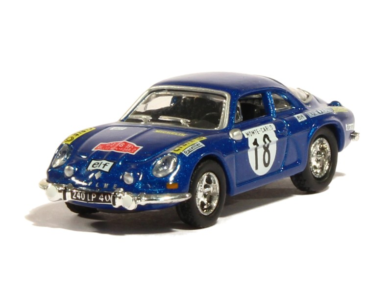 alpine a110 1800 s monte carlo 1973 norev micro ho 1 87 autos miniatures tacot. Black Bedroom Furniture Sets. Home Design Ideas
