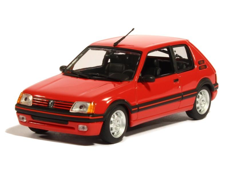 peugeot 205 gti 1 9l 1990 maxichamps 1 43 autos miniatures tacot. Black Bedroom Furniture Sets. Home Design Ideas